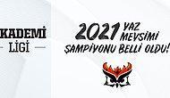 Akademi Ligi 2021 Yaz Mevsimi Şampiyonu Papara SuperMassive Blaze Oldu!