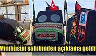 İstanbul'da Afganlara Ait Olduğu İddia Edilen ve Kara Çarşaf Giydirilen Minibüs Aslında Ne?