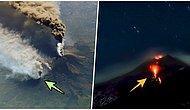 Her Patlamada Etkisinin Daha da Arttığı Etna Yanardağı Rekor Mesafeye Ulaştı!