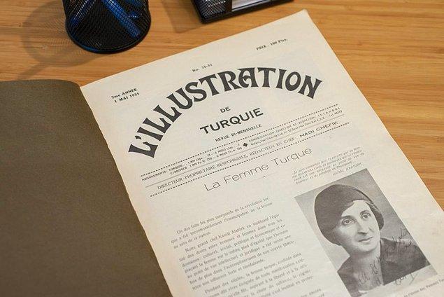 Ve kongreden hemen 1 ay sonra çıkan Fransız derginin özel sayısında hem kongredeki sunumların tamamı hem de Türk kadını kendisine yer bulur.