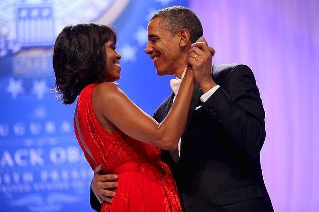 5. Michelle Obama ve Barack Obama