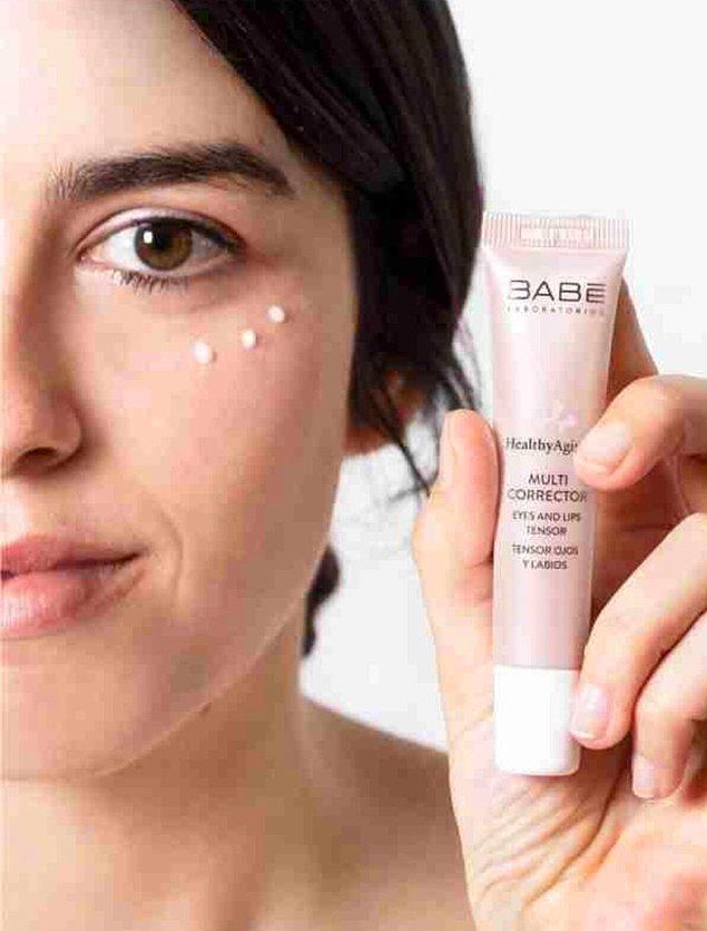 7. Göz ve dudak çevreniz için Babe ürünlerine göz atabilirsiniz.