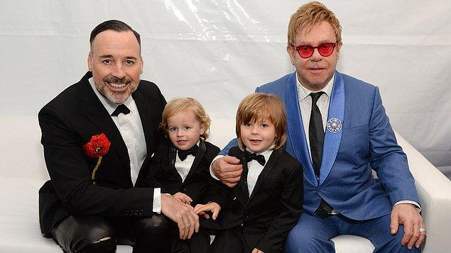 6. Elton John ve David Furnish