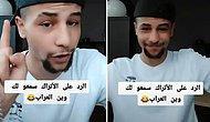 Suriyeli Genç 'Bavulunuzu Yavaş Yavaş Toplamaya Başlayın' Yorumuna Videolu Cevap Verdi: Biz Sizi Göndereceğiz