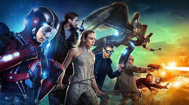 9. Legends of Tomorrow (2016 - ) - IMDb: 6.8