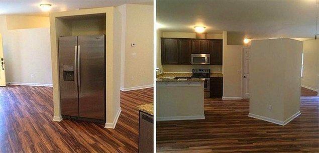 12. Buzdolabını buraya koymayı kim düşündü acaba... 👇