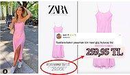 Zara ve HM'in Avrupa ve Türkiye Mağazalarındaki Fiyatlarını Gören Twitter Kullanıcısı İsyan Etti