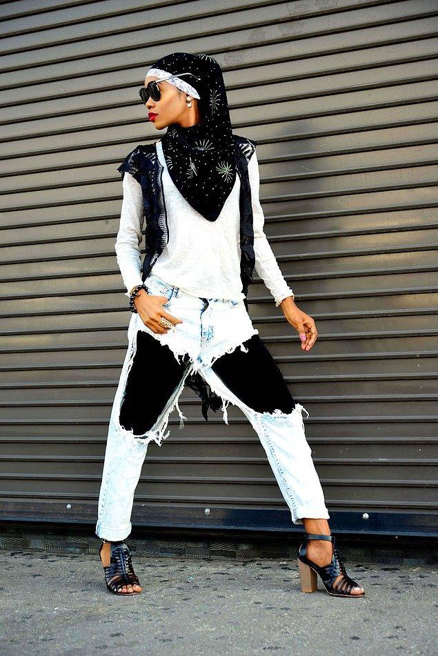Rihanna da giyince moda olup olmayacağına dair bir kuşku da kalmadı.