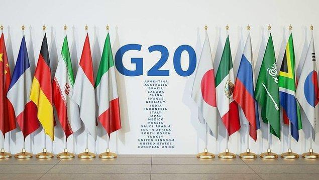 G20 ekonomilerinin büyüme tahminleri