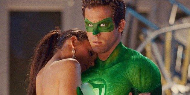 6. Ryan Reynolds ve Blake Lively - Green Lantern (2011)