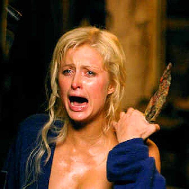 3. 'House of Wax' filminde rol alan Paris Hilton, çığlık atacağı bir sahnede utandığı için bütün film ekibinin kendisiyle beraber çığlık atmasını istemiş.