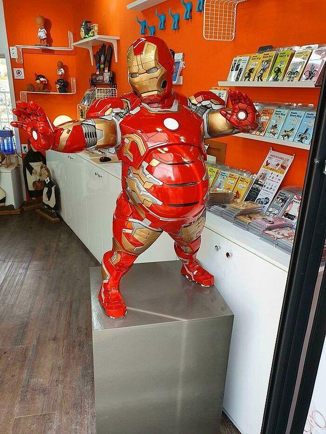 30. Şişko Iron-Man'i Güney Kore'den başka hiçbir yerde göremezsiniz.