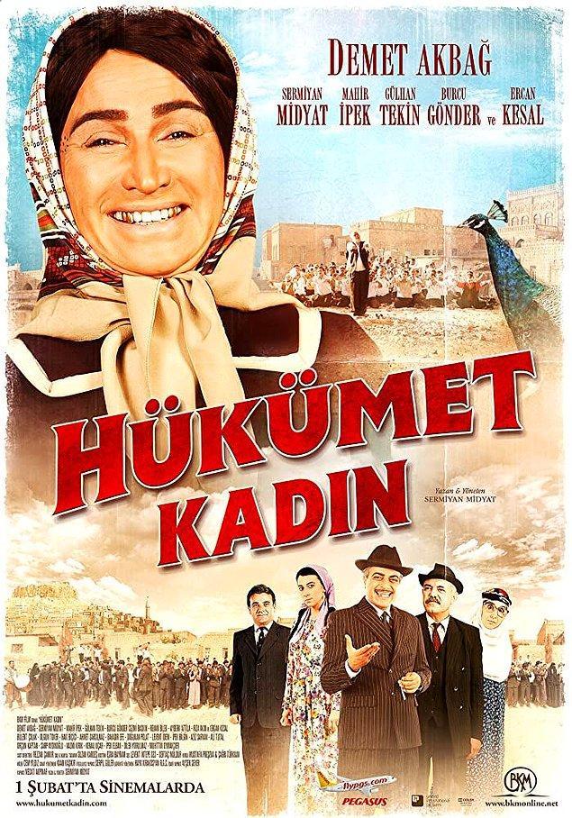 7. Hükûmet Kadın (2013) - IMDb: 6.5