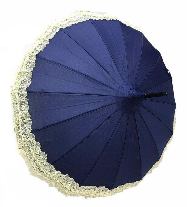 10. Vintage tasarım sevenler için harika bir şemsiye alternatifi.