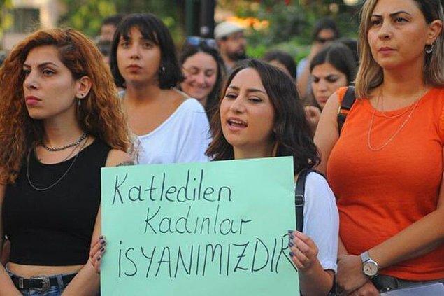 """Raporda, """"Öldürülen 31 kadından 17'sinin hangi bahaneyle öldürüldüğü tespit edilemedi."""