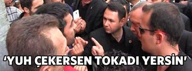 Erdoğan'ın öfkesinin nerelere taştığını son 20 yıllık süreçte gördük. Bazen Soma'da bir esnafa, bazen mitingde eşine, bazen devlet başkanlarına, bazen muhalefete ve liderlerine..