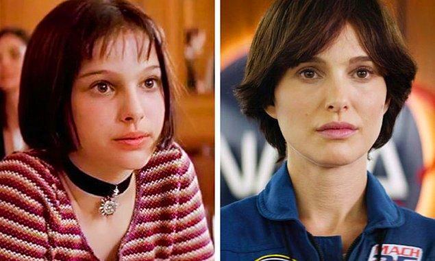 14. Natalie Portman: Léon (1994) — Lucy in the Sky (2019)