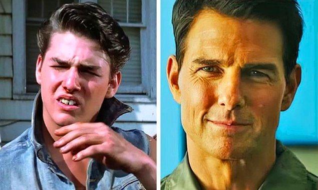 15. Tom Cruise: Endless Love (1981) — Top Gun: Maverick (2021)
