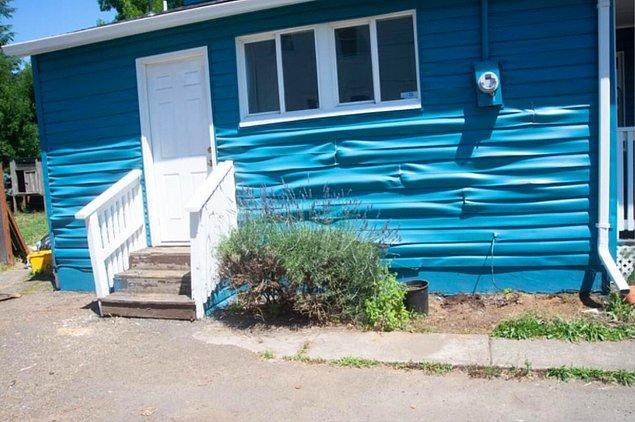 3. ABD'nin Oregon eyaletinde 50'lere ulaşan hava sıcaklığı yüzünden evler bile erimeye başladı.