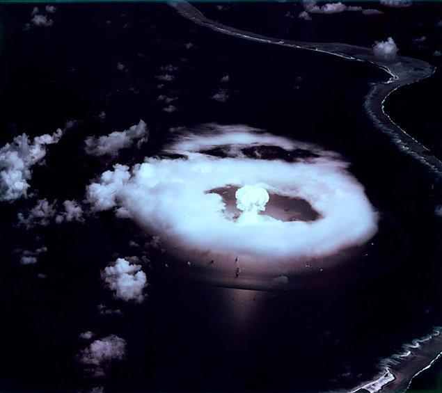 2. Amerika'ya ait ne için olduğu bilinmeyen 6'ya yakın nükleer silah var.