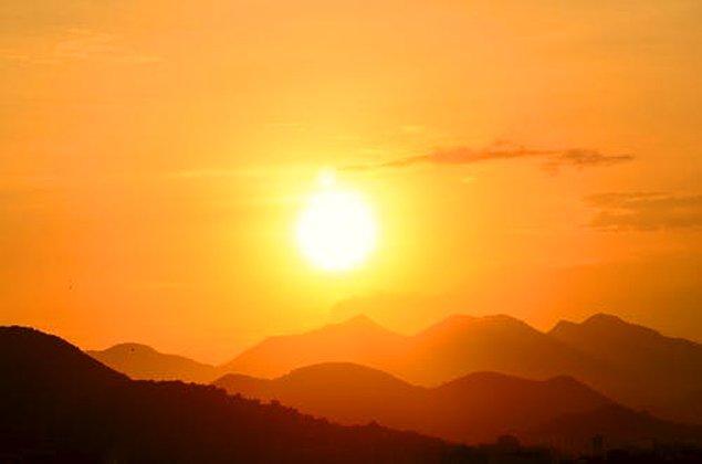 18. Güneş korkusu