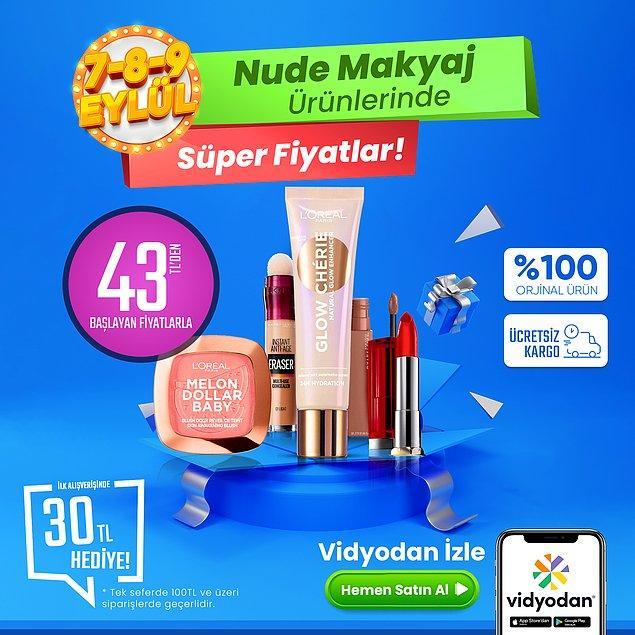 3. Paket: Nude Makyaj Paketi