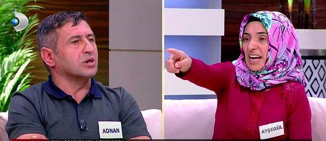"""Bundan yaklaşık bir hafta önce Kanal D ekranlarında yayınlanan """"Ece Üner ile Susma"""" isimli programa katılan Adnan bey, eşi ve babasını kendi evinde çocuklarının yanında ilişkiye girerken gördüğünü iddia etmişti."""