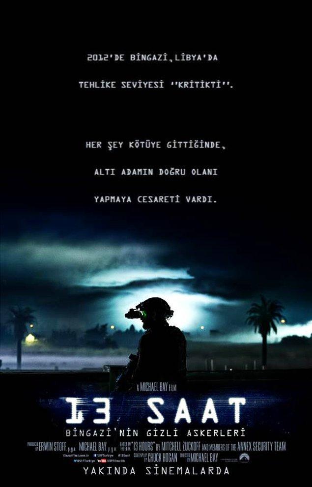 5. 13 Hours: The Secret Soldiers of Bingazi / 13 Saat: Bingazi'nin Gizli Askerleri (2016) IMDb: 7.3