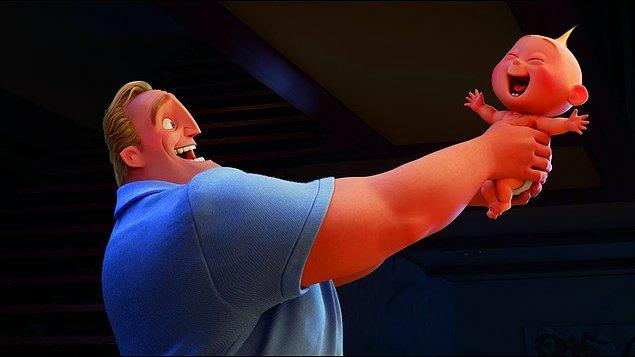 11. İnanılmaz Aile 2 filminde Edna karakteri, Jack Jack'in güçlerinin Mozart dinlediğinde ortaya çıktığını söylüyor.