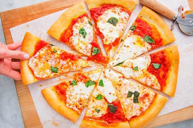 Pizza: 7 dakika 8 saniye