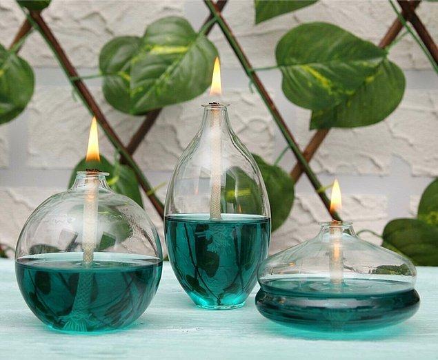 10. Bu kandil vazolar 90'larda çoğu insanın evinde dekor olarak kullanılırdı.