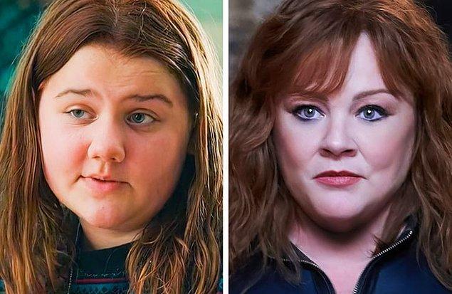 16. 'Thunder Force' filminde Melissa McCarthy'nin kızı Vivian, Lydia karakterinin gençliğini canlandırdı.