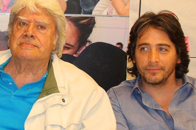 7. Cüneyt Arkın ile oğlu Murat Arkın ise 'Vatandaş Rıza' ve 'Önce Hayaller Ölür' filmlerinde babasının yanında çocuk karakterleri canlandırdı.