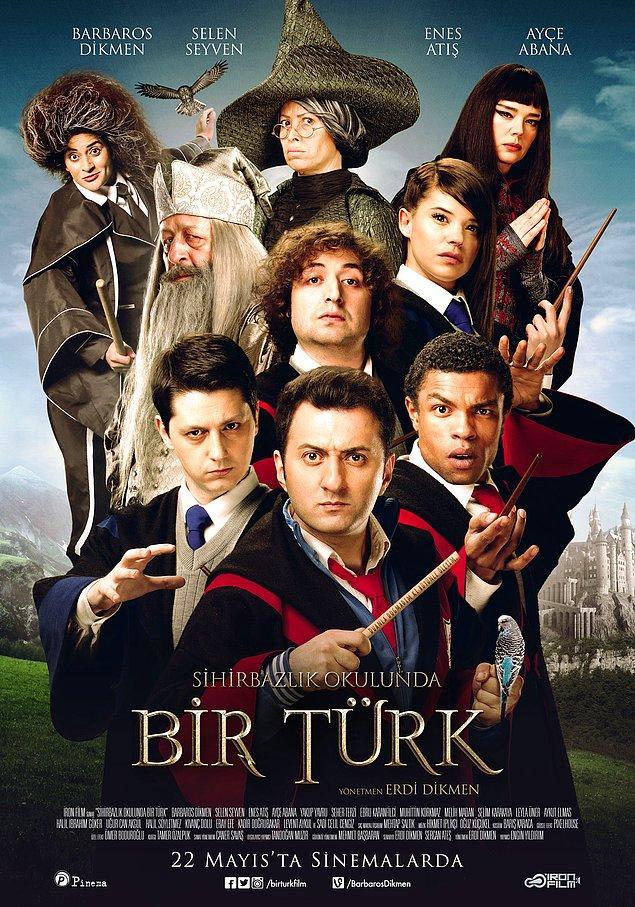 """12. """"Sihirbazlık Okulunda Bir Türk"""" filminin orijinalini yazmaya bile gerek yok; elbette """"Harry Potter""""."""