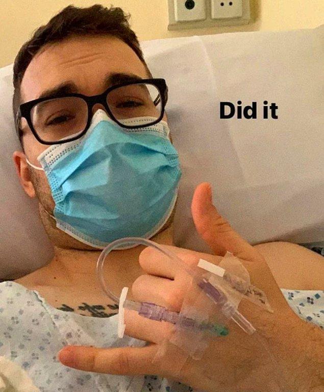 """14. """"Ameliyatımda artık kansere dair hiçbir iz kalmadığını söylediler. Sonunda başardım!"""""""