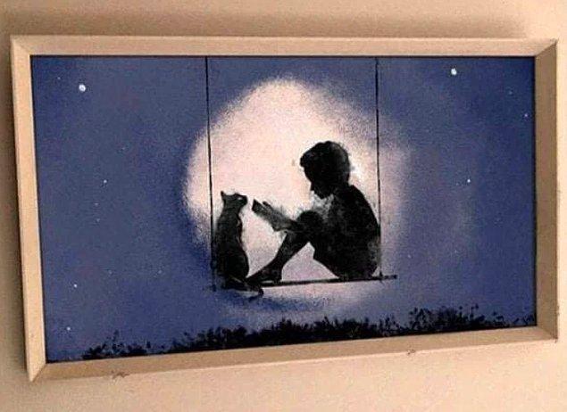 """1. """"Bugün, eşim için ilk başyapıtımı bitirdim. Kendisi her defasında çocukluğundaki kediden bahsediyordu..."""""""