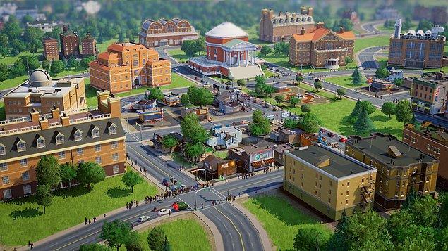 1. Yalnızca üniversite için kurulmuş ve öyle şekillenmiş bir şehir yok!