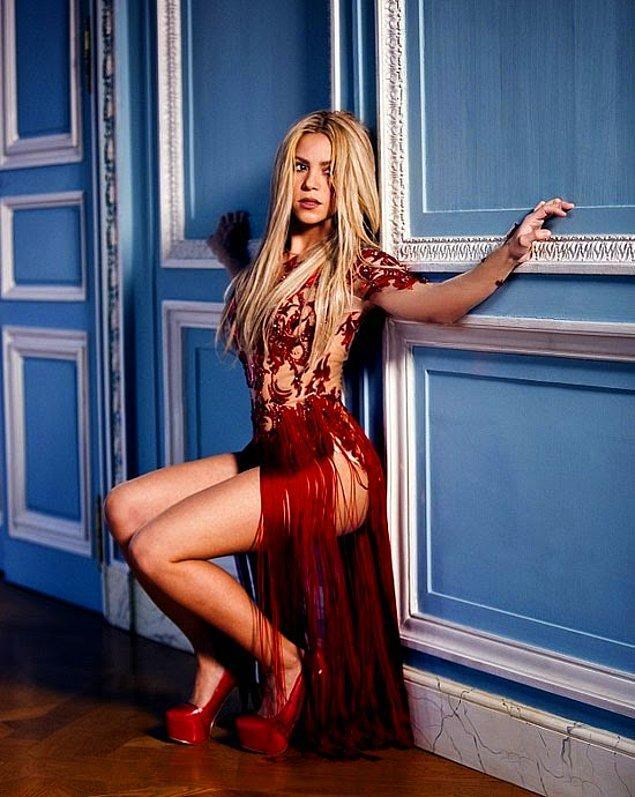 17. Shakira: