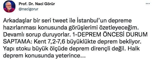 Bakalım İstanbul'un depreme nasıl hazırlanması gerekiyor? Bu önemli bilgileri okumanızda fayda var. Buyrun...