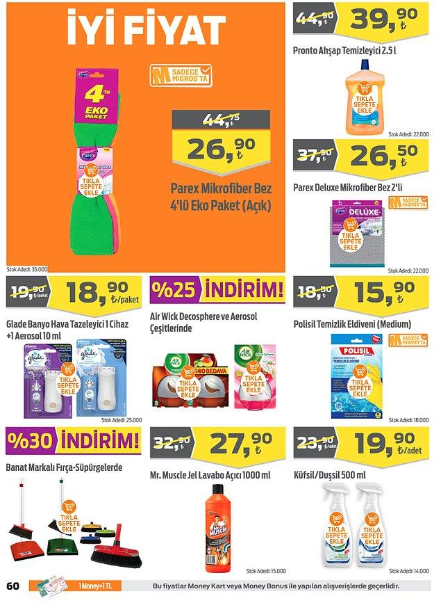 42. Banat marka fırça ve süpürgeler %30 indirimli.