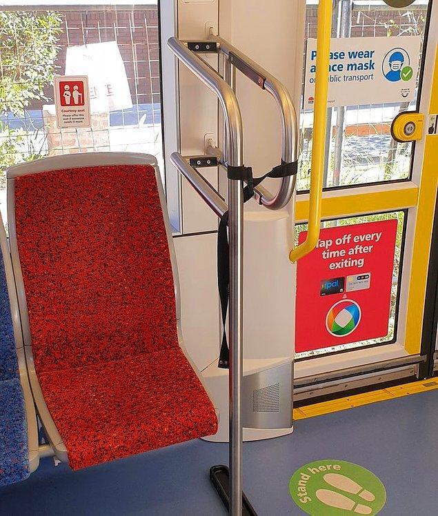 1. Avustralya'daki bazı tramvaylarda sörf tahtaları için özel alan bulunduğunu biliyor muydunuz?