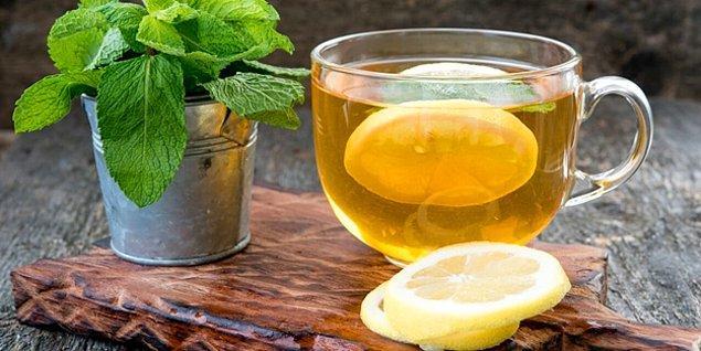8. Nane limon çayı