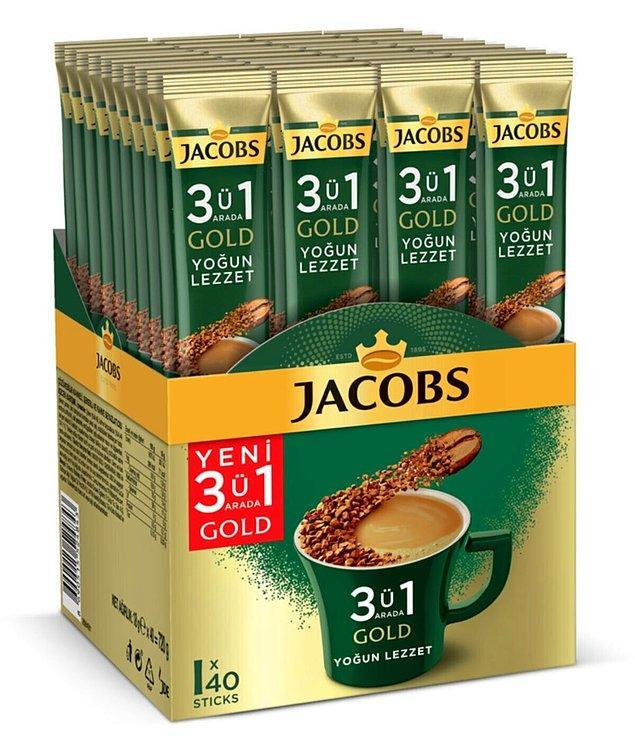 11. Jacobs kahve içmekten vazgeçemeyenlere çoklu öneri...