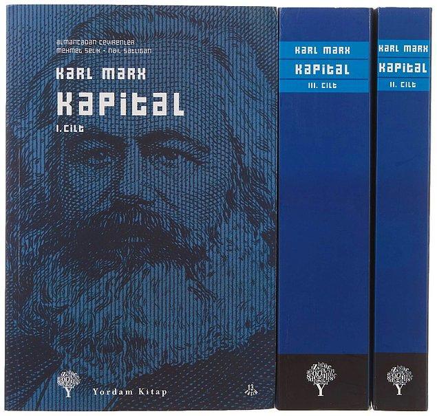 21. Alman kalitesinden bahsetmişken Karl Marx'ı anmadan olmaz...