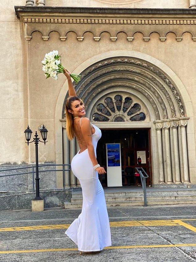 Kişisel olarak yaşadığı bu aydınlanmanın ardından yeni hayatını kutlamak istemiş Cris ve ani bir kararla kendi kendine evlenmeye karar vermiş!