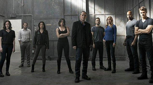 8. Agents of S.H.I.E.L.D. (2013-2020) - IMDb: 7.5