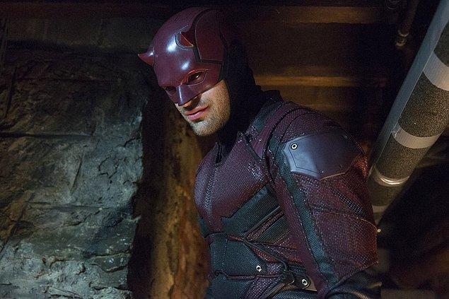 1. Daredevil (2015-2018) - IMDb: 8.6