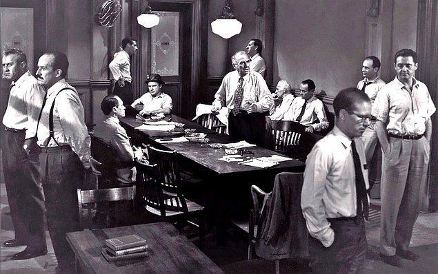 1. 12 Angry Men (1957) IMDb: 9.0