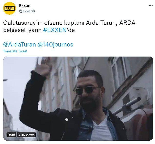 Belki görmüşsünüzdür Acun Ilıcalı'nın sahip olduğu dijital platform Exxen, Fenerbahçe, Pascal Nouma ve Arda Turan için belgesel hazırladı. Geçtiğimiz gün de bunu duyurmuştu.