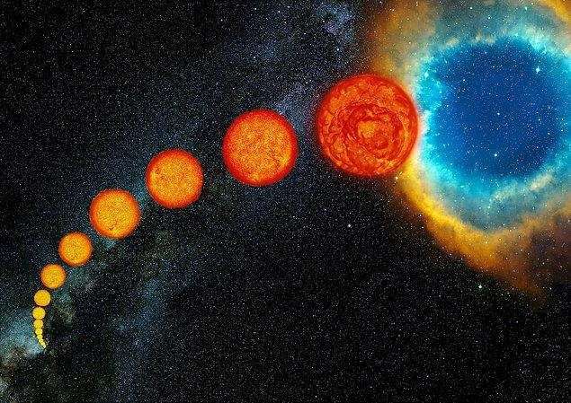 Yıldızların teorik olarak nasıl öldüğünü biliyoruz.